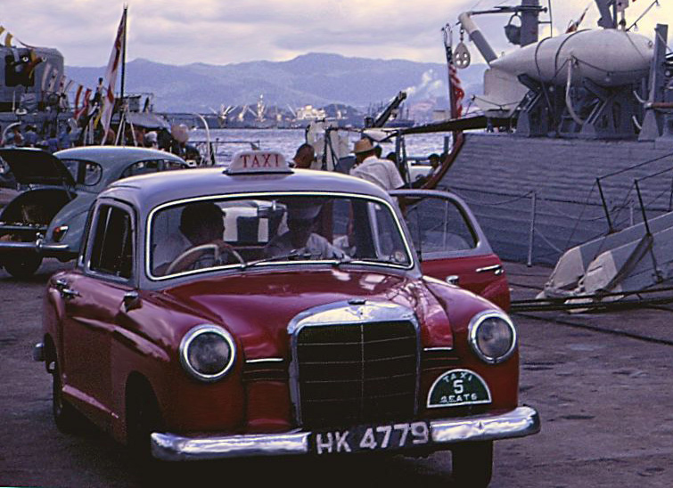 All hail the taxis of hong kong 39 s past for Mercedes benz hk