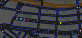 Play Pac-Man on Google Maps