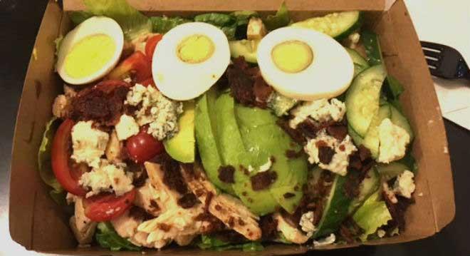 Organic Cobb Salad Fast Food